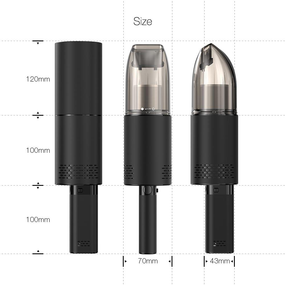 Wireless 3 in 1 Multi-purpose Handheld Vacuum Cleaner