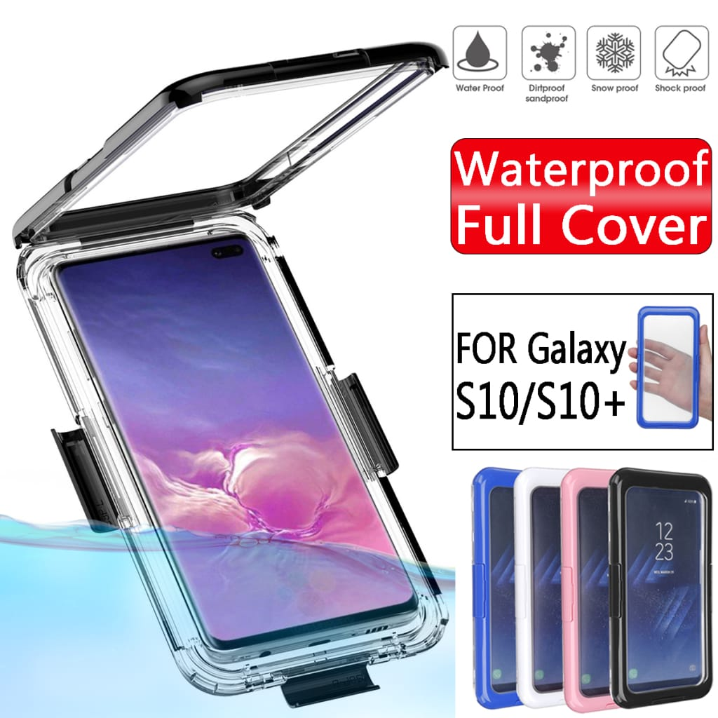 Bakeey Waterproof Case for Samsung Galaxy S10 - 4 Colours