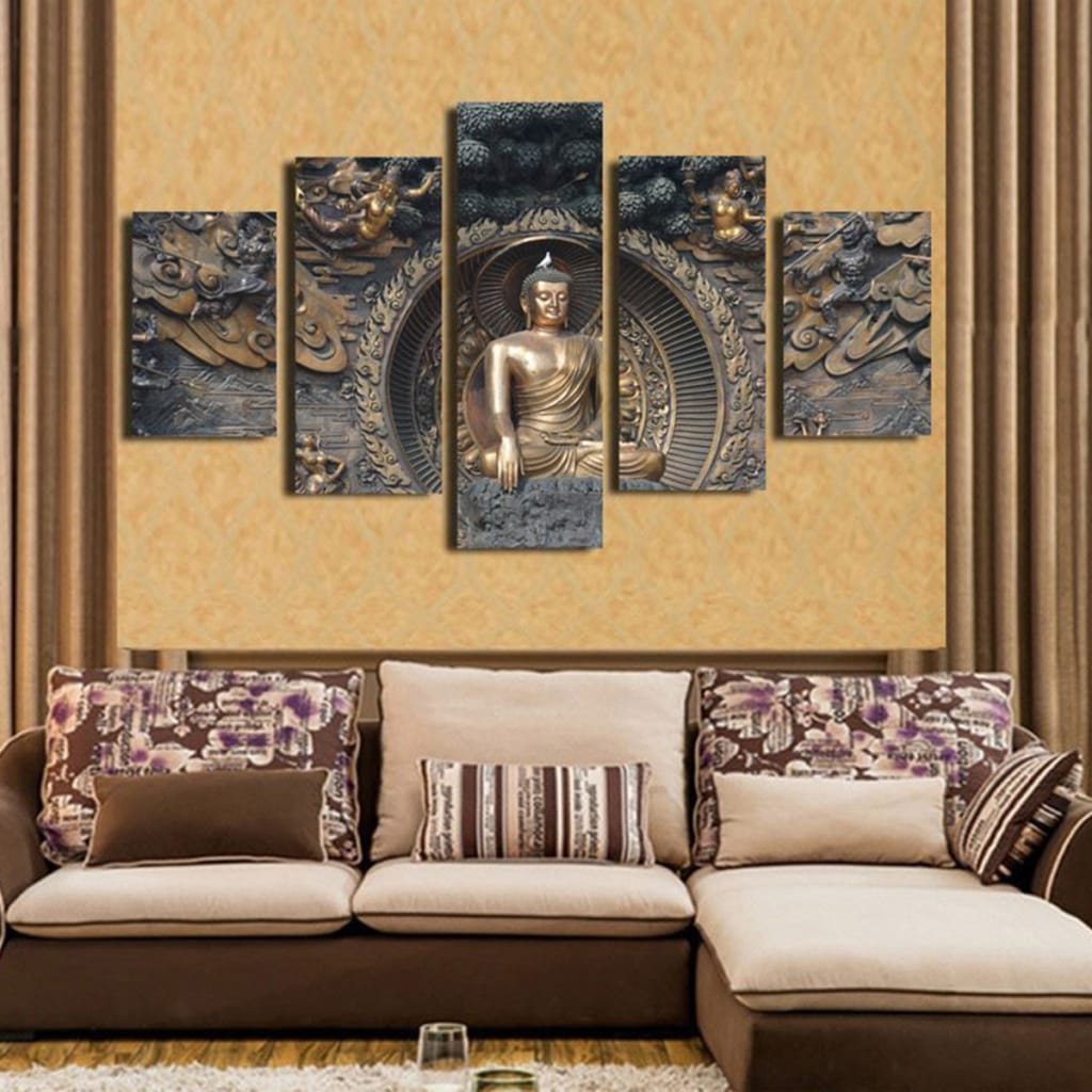 5pcs Modern Canvas Pictures Wall Art Decor Paintings Posters