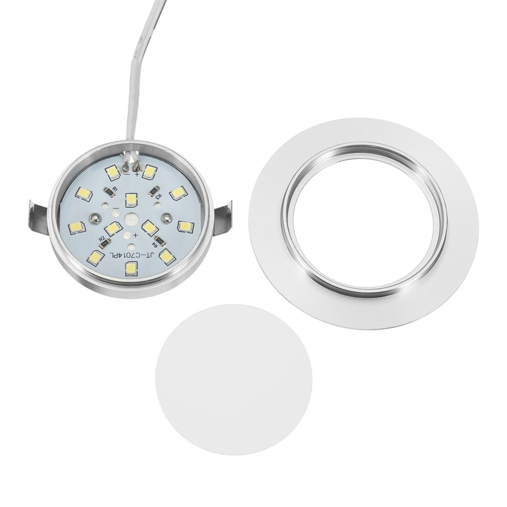 Led Round Recessed Ceiling Light Flat Panel Down Cabinet