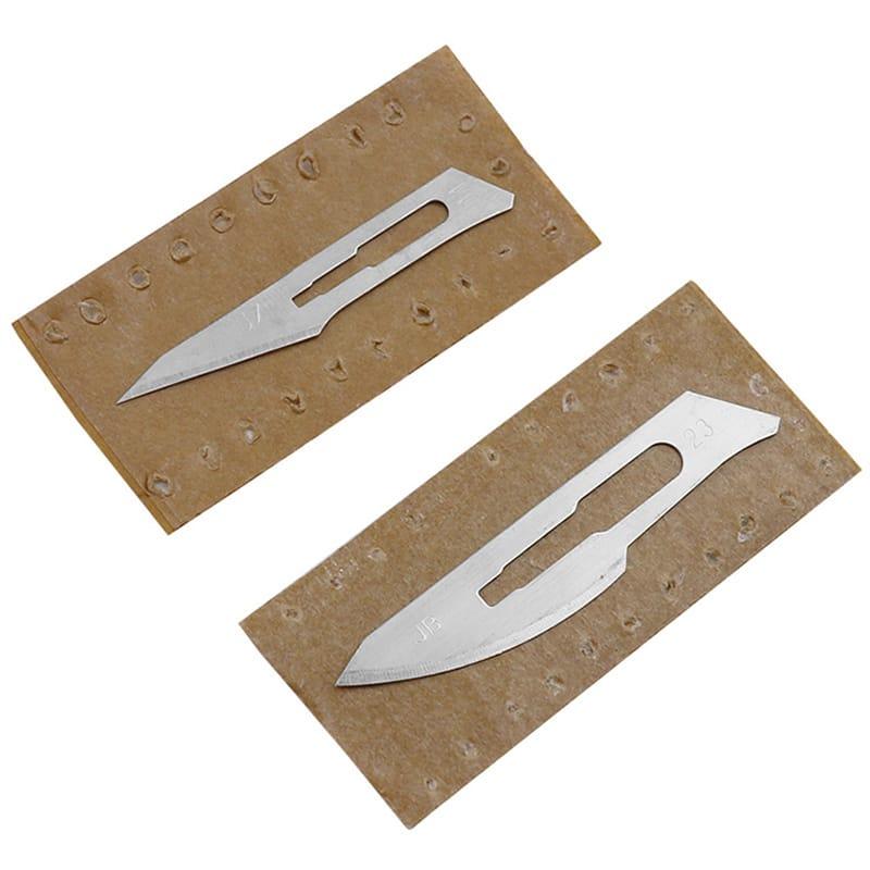 10pcs Carving Surgical Blades Diy Cutting Tool Pcb Repair