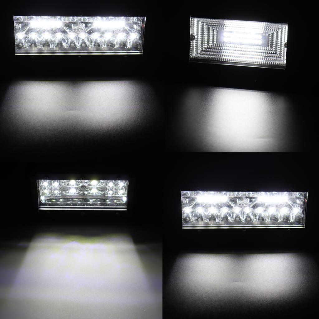 Led Work Light Bar Spot Flood Driving Fog Light 6000k White
