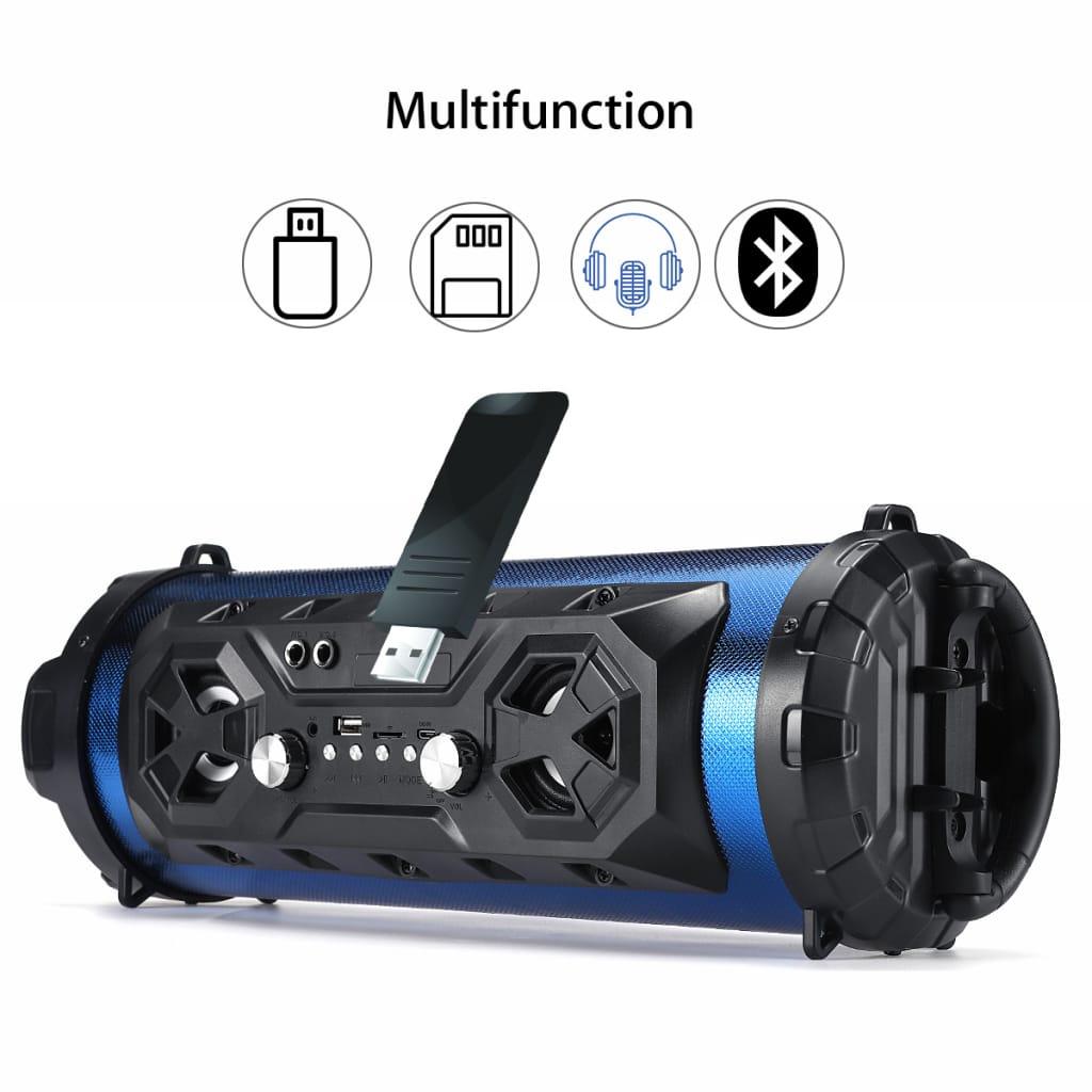 Portable Bluetooth Super Bass Speaker Phone Holder - 4