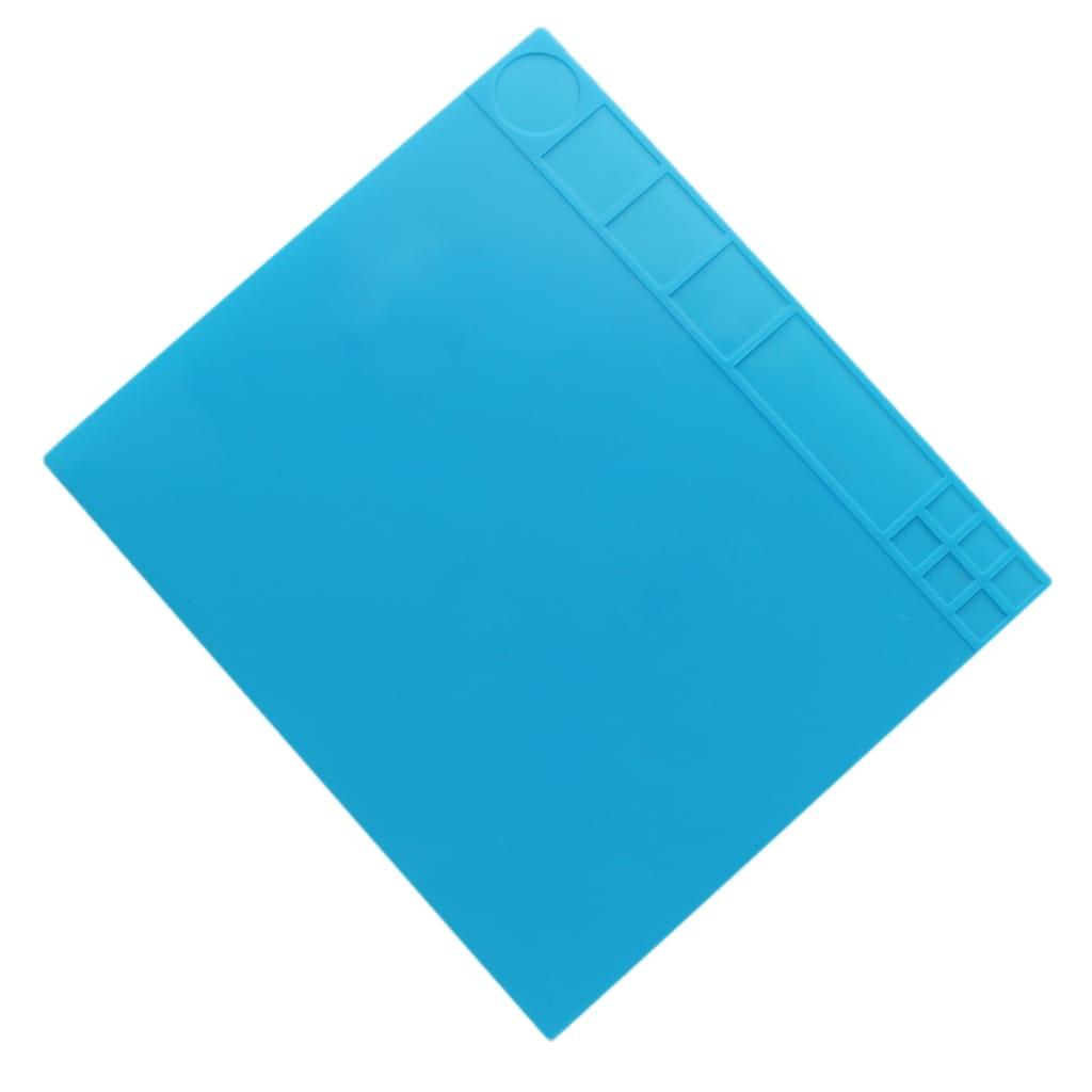 35x40cm Heat Resistant Silicone Pad Desk Mat Maintenance