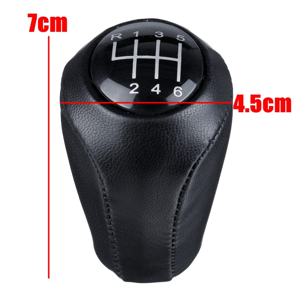 Leather Gear Shift Knob Stick for Mazda - 2 Options