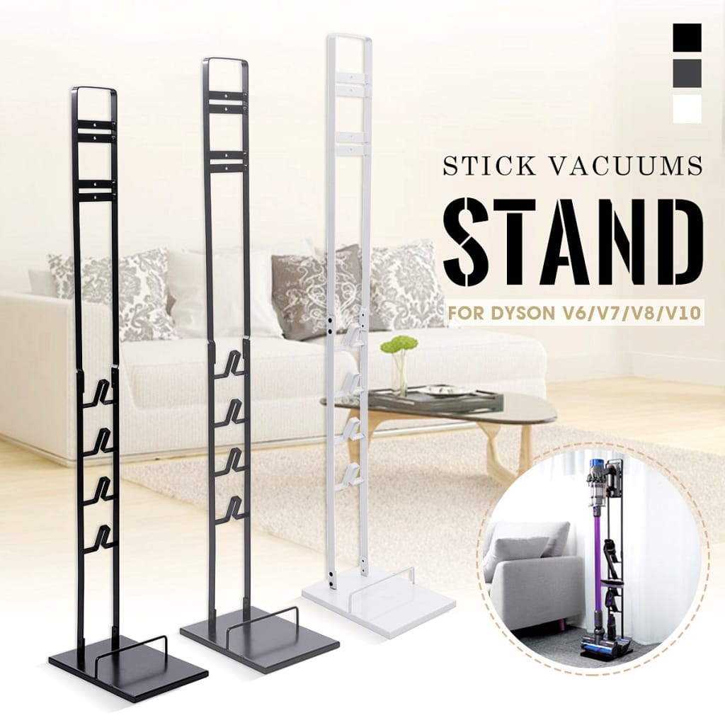 Freestanding Stick Cordless Vacuum Cleaner Stand Bracket for
