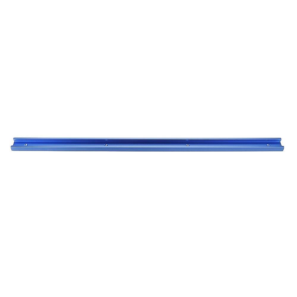 Blue 100-1200mm T-slot T-track Miter Track Jig Fixture Slot