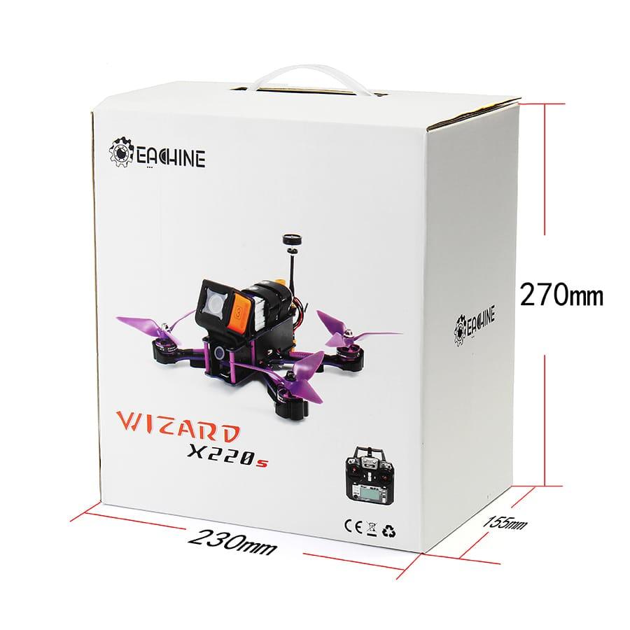 Fpv Racer Rc Drone Omnibus F4 5.8g 40ch 30a Dshot600 - 2