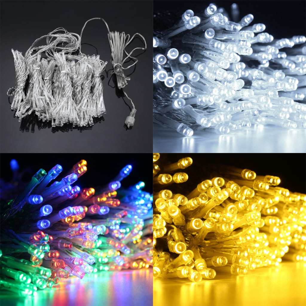 Solar Powered Waterproof 300 Leds Fairy String Light - 3