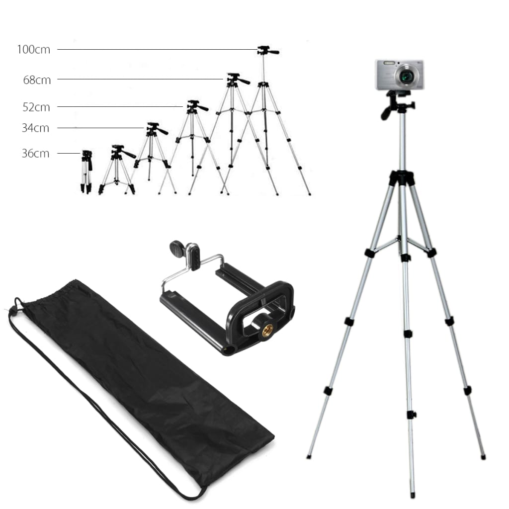 Bakeey Professional Camera Adjustable Tripod Stand
