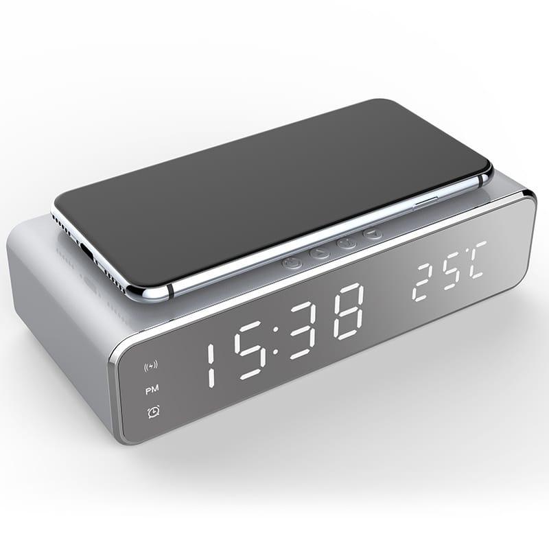 Usb Digital Led Desk Alarm Clock with Thermometer Wireless