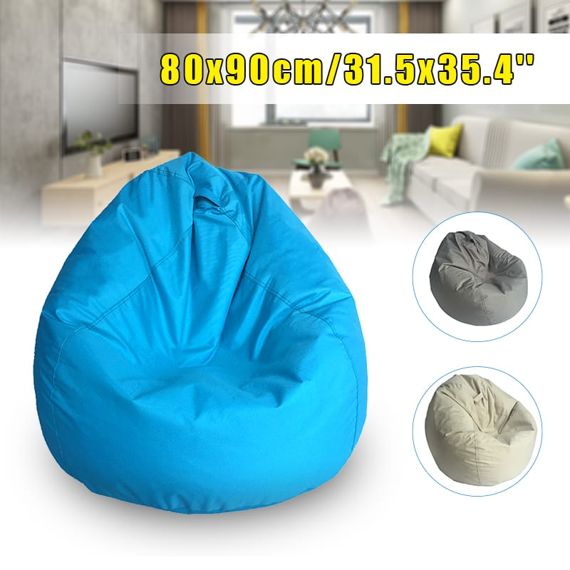 Waterproof Bean Bag Chair Cover Sofa Seat Polyester - 3