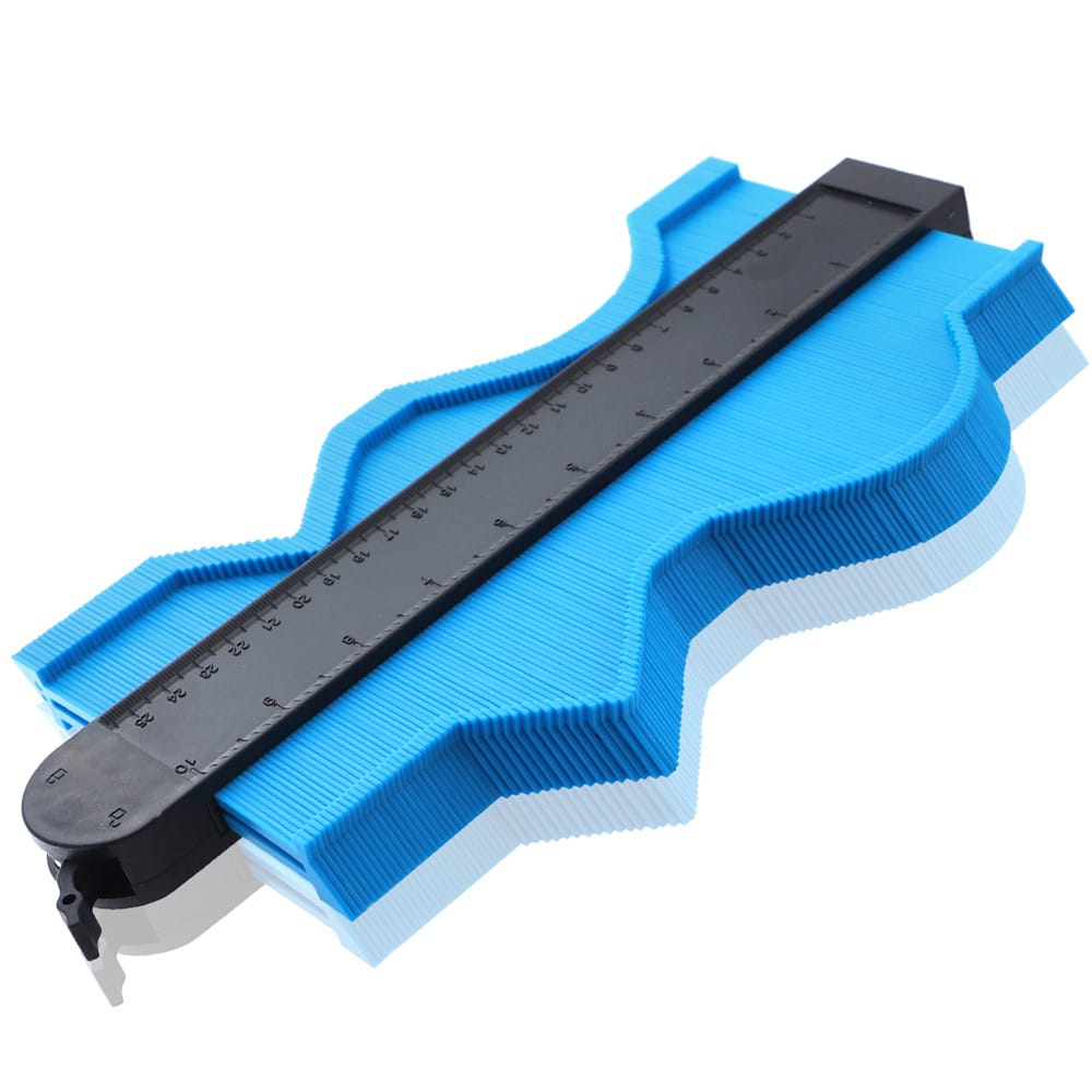 Self Locking Contour Gauge Plastic Profile Gauge - 4 Colours
