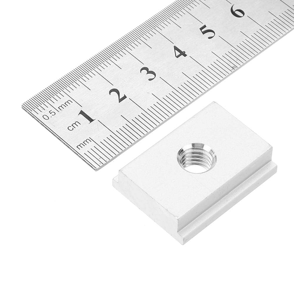 M8 T-track Sliding Nut T Slot Nut for Woodworking Tool Slot