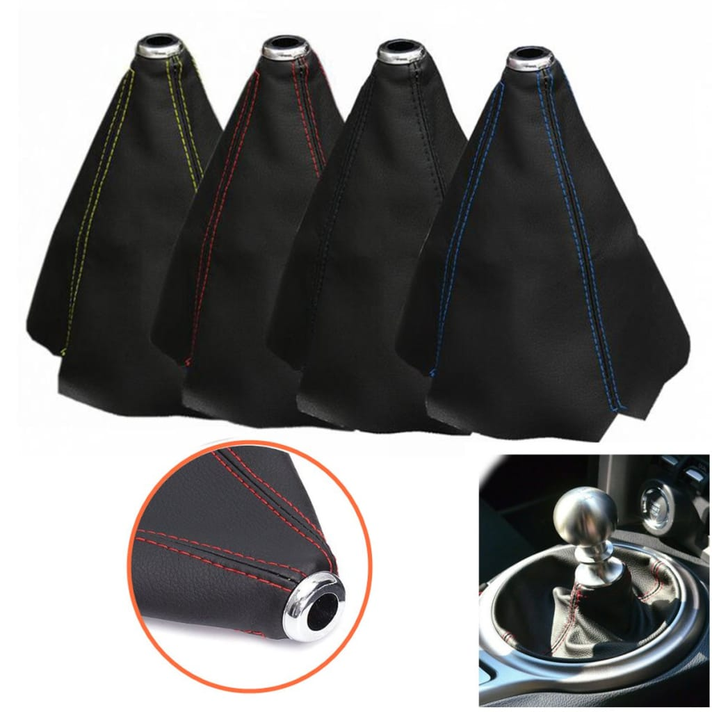 Universal Car Pvc Leather Gear Manual Gaiter Shifter Shift