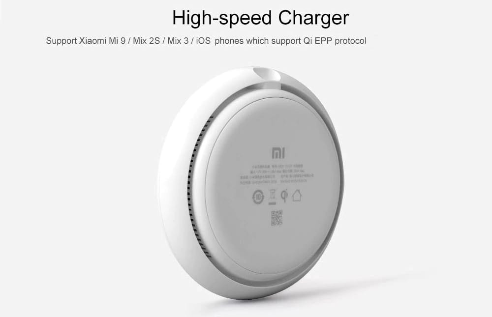 Xiaomi Wireless Charger Pad for Qi-enabled Smart Phones for