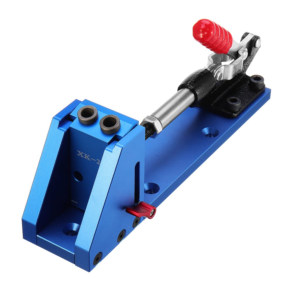 Xk-2 Aluminum Alloy Pocket Hole Jig system Woodworking Drill