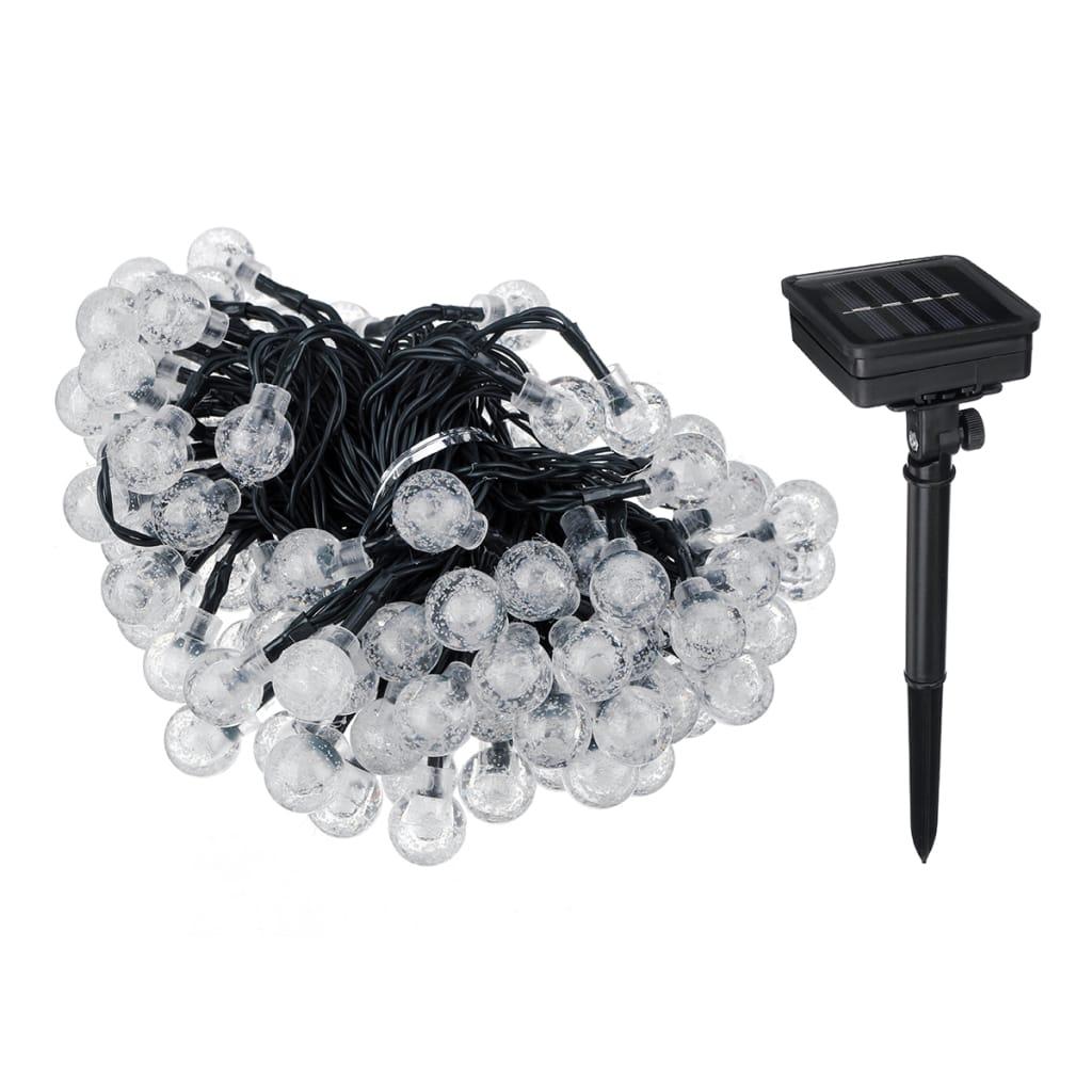 Solar String Light Crystal Ball Fairy Lamp - 2 Colours