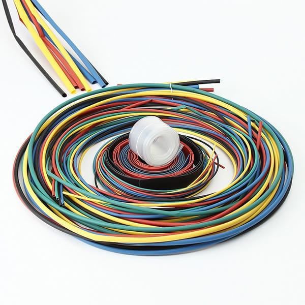 180pcs Assortment 2:1 Heat Shrink Tubing Tube Kit Sleeving
