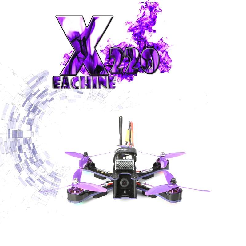 Fpv Racing Rc Drone Blheli_s F3 5.8g 40ch 200mw 700tvl