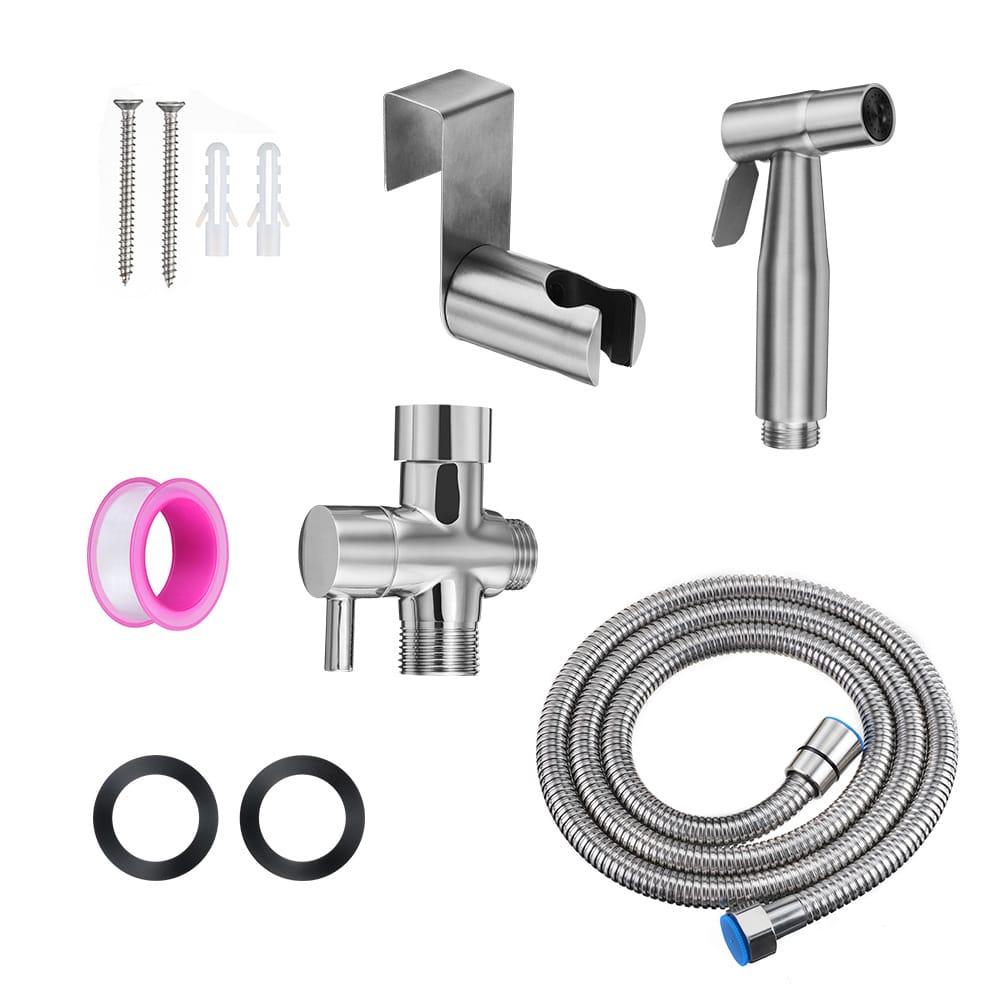 Handheld Bidet Sprayer Sus304 Stainless Steel Washer Nozzle