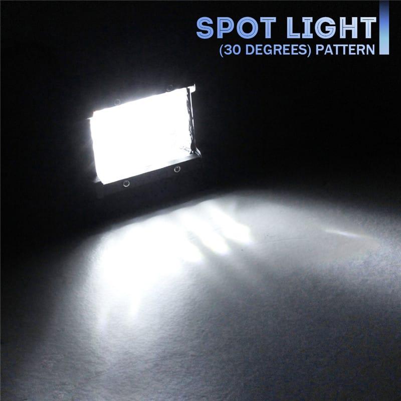 4 Inch 36w 2160lm Led Work Light Bar Spot Beam Driving Fog