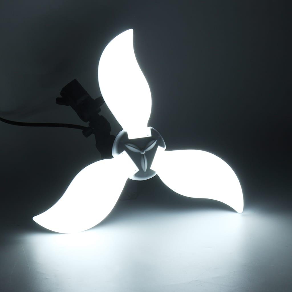 Overhead Adjustable Deformable Light Bulb Garage Lamp - 84