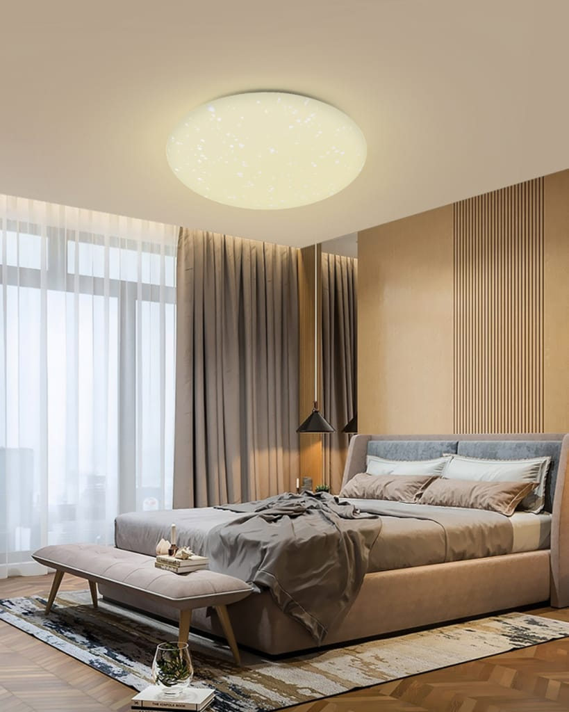 Smart Led Ceiling Light Mount Wifi App Control Work with