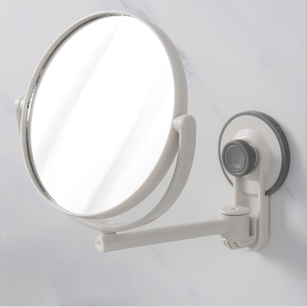 Shaving Shave Bathroom Makeup Double-sided Mirrors