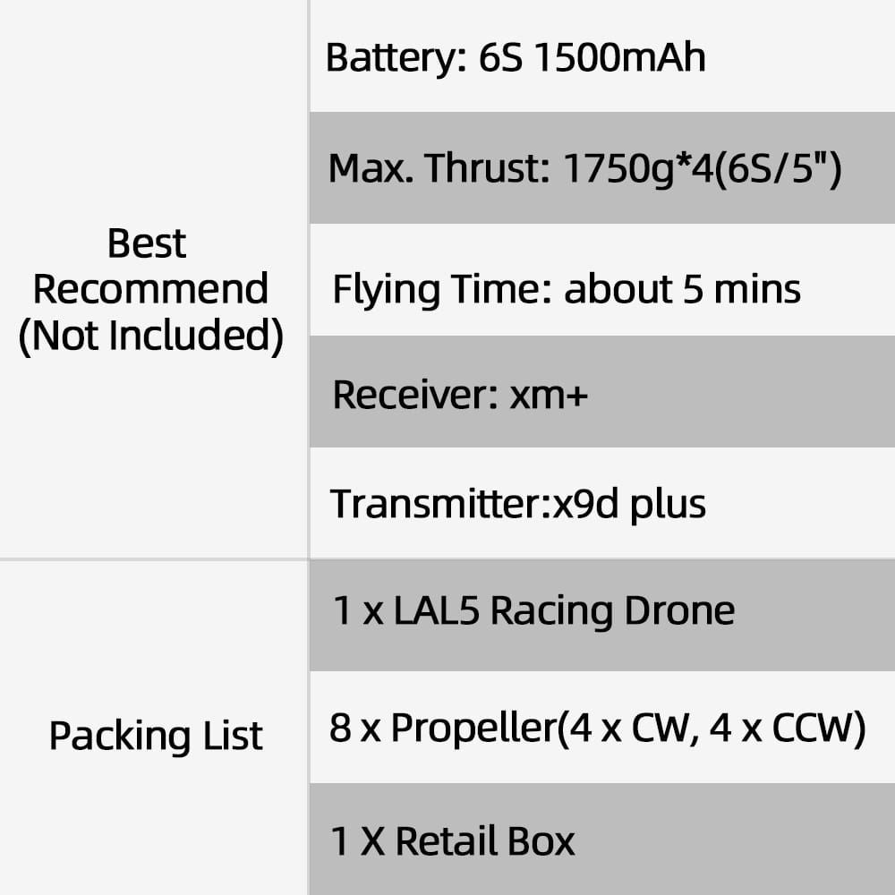 Fpv Racing Drone Pnp F405 Bluetooth Fc Caddx Tarsier V2 Cam
