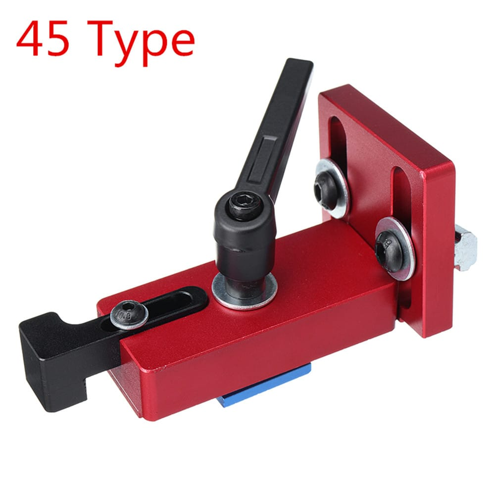 Fixed T-slot Miter Track Stop Chute Stopper 30/45 Manual