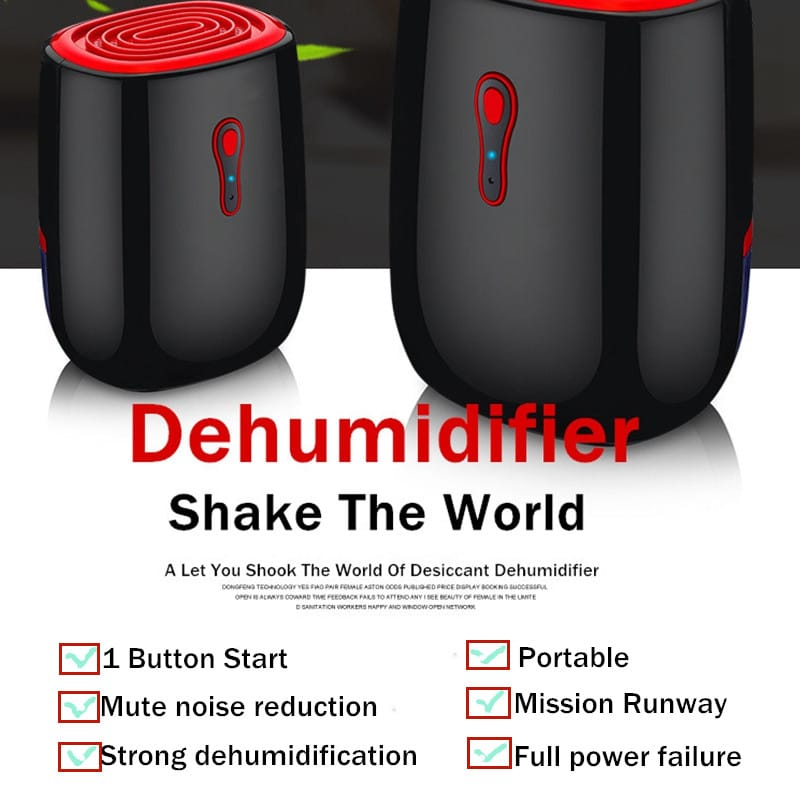 Home Dehumidifier Mute Bedroom Basement Dryer Device - 220v