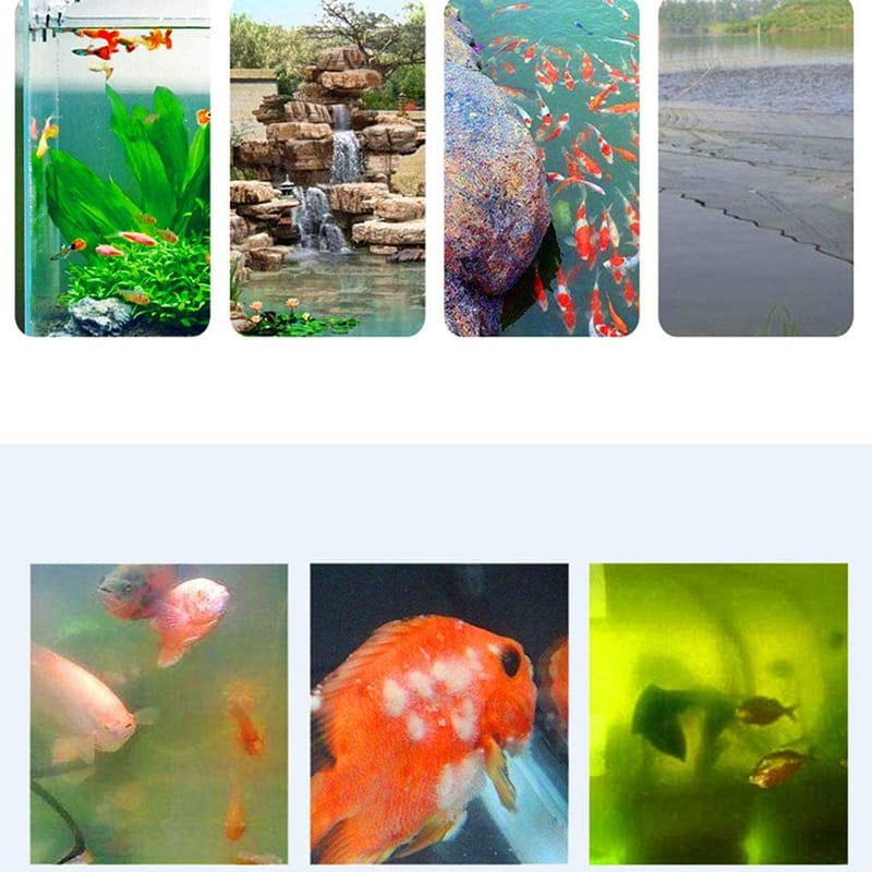 Portable Fish Tank Uv Sterilizer Wand Ultraviolet Light