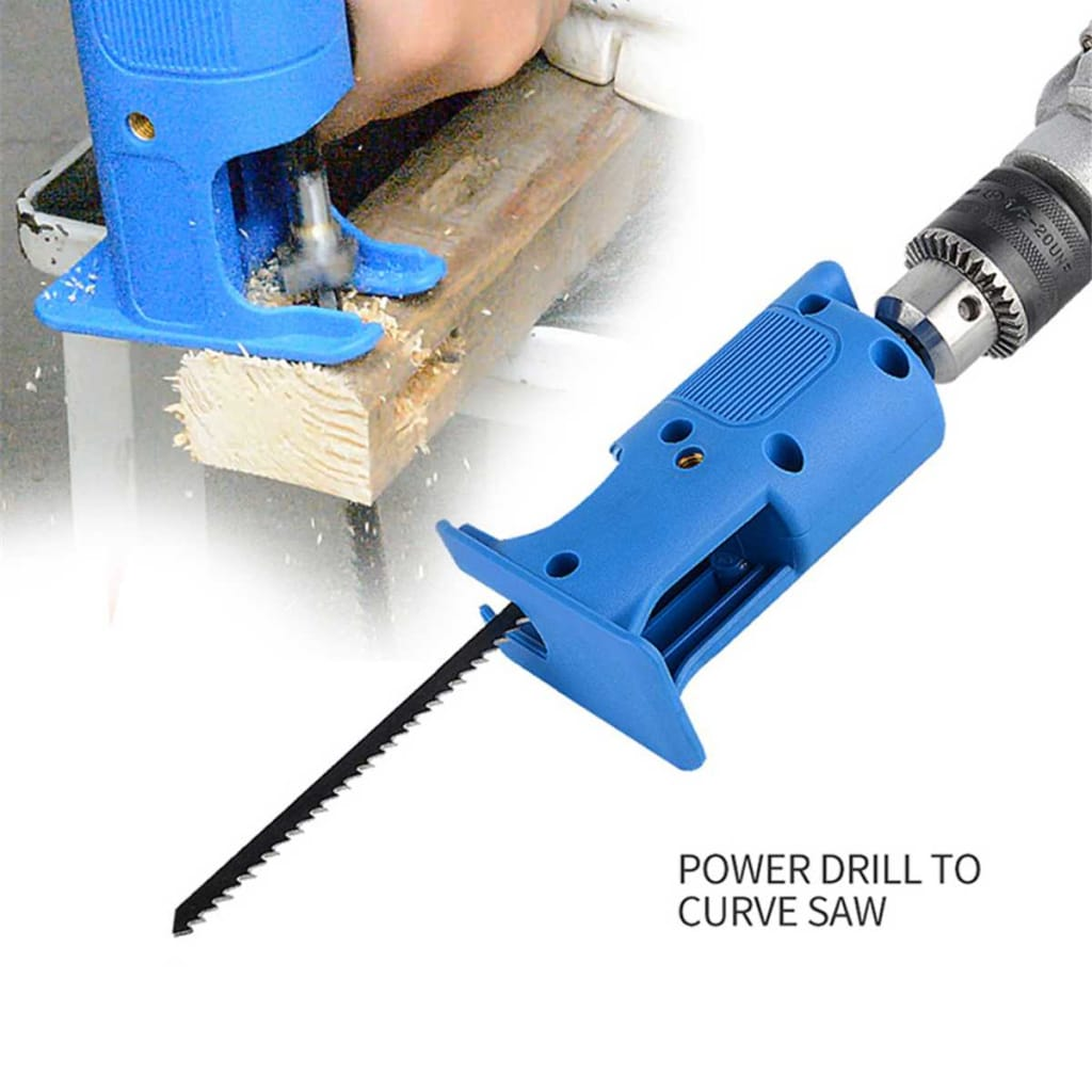 Reciprocating saw Attachment Adapter Change Electric Drill
