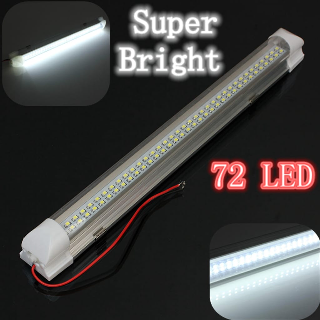 Interior Led Light Strip Lamp White - 34 Cm