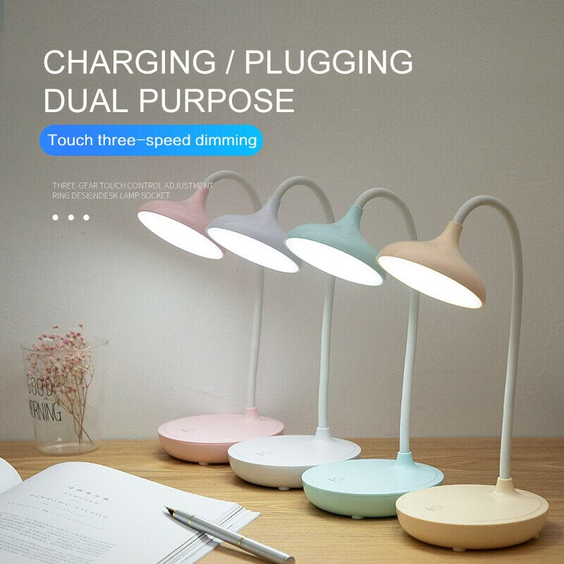 Dimmable Touch Sensor Usb Charge Led Desk Table Lamp - 3