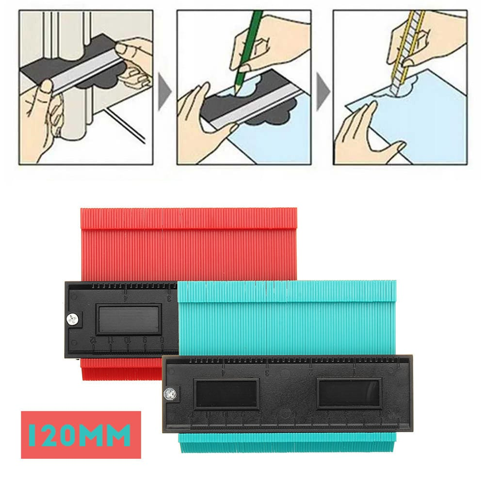 120mm Shape Contour Duplicator Profile Gauge Tiling Laminate
