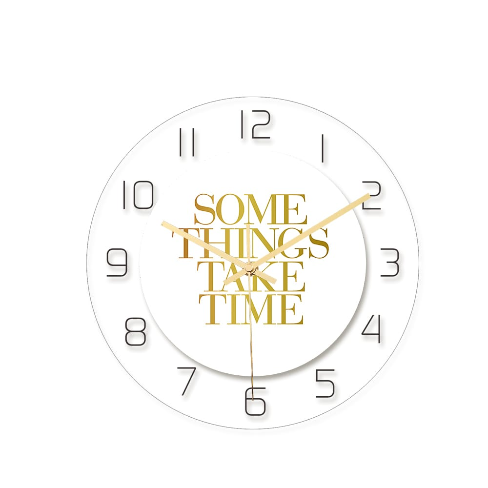 Loskii Cc011 Creative Wall Clock Mute Wall Clock Quartz Wall