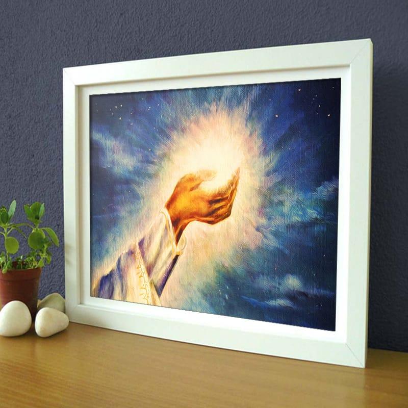 Miico Hand Painted Light of Christ Oil Paintings