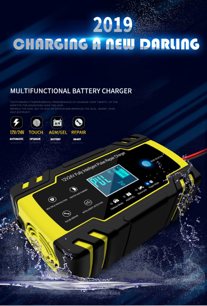 12/24v 8a/4a Touch Screen Pulse Repair Lcd Battery Charger