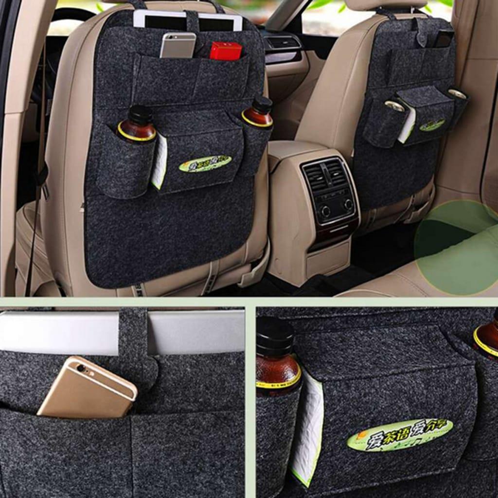 Auto Car Seat back Hanging Multi-pocket Storage Bag - 4