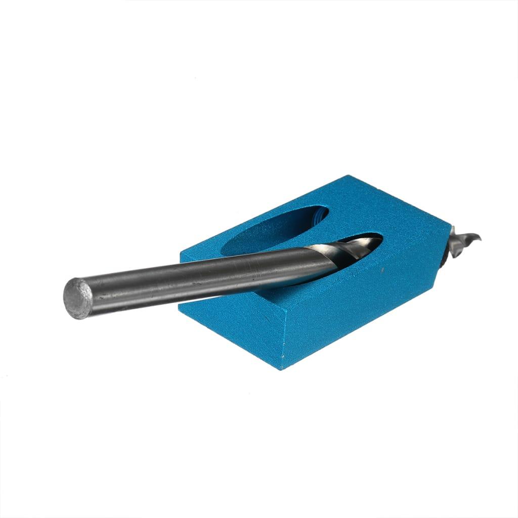 Pocket Hole Screw Jig Dowel Drill Set - 17pcs 15 Degree