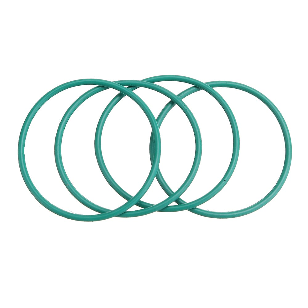 Rubber Piston O Ring Fluorogel Rubber Rings 22mm*1mm - 4 Pcs