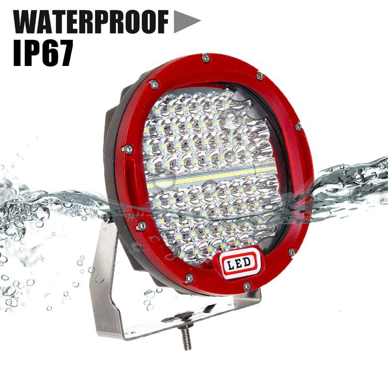 7 Inch Dc12-36v Round Work Light Led Spot Flood for Offroad
