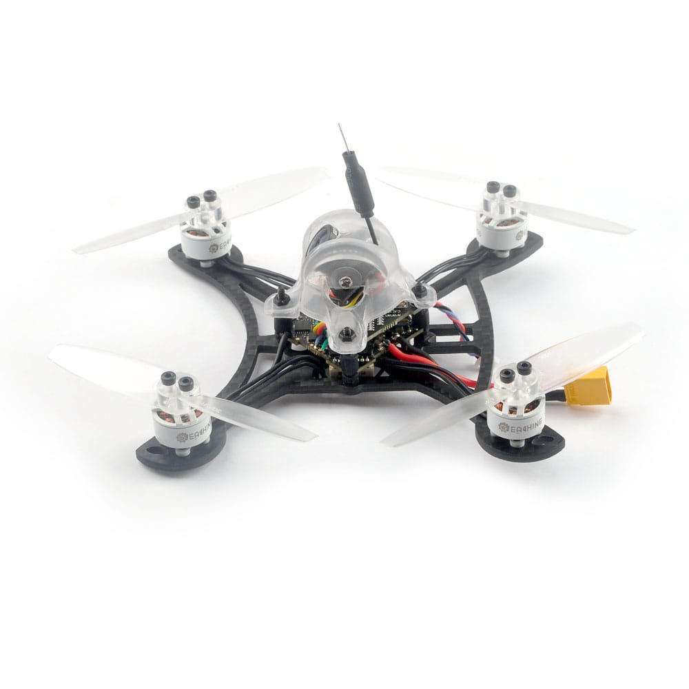 Fpv Racing Drone Bnf Frsky D8 Crazybee F4 Pro 115mm 3 Inch