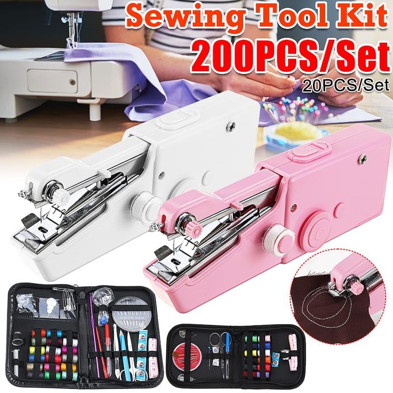 Portable Mini Handheld Cordless Sewing Machine - 2 Options