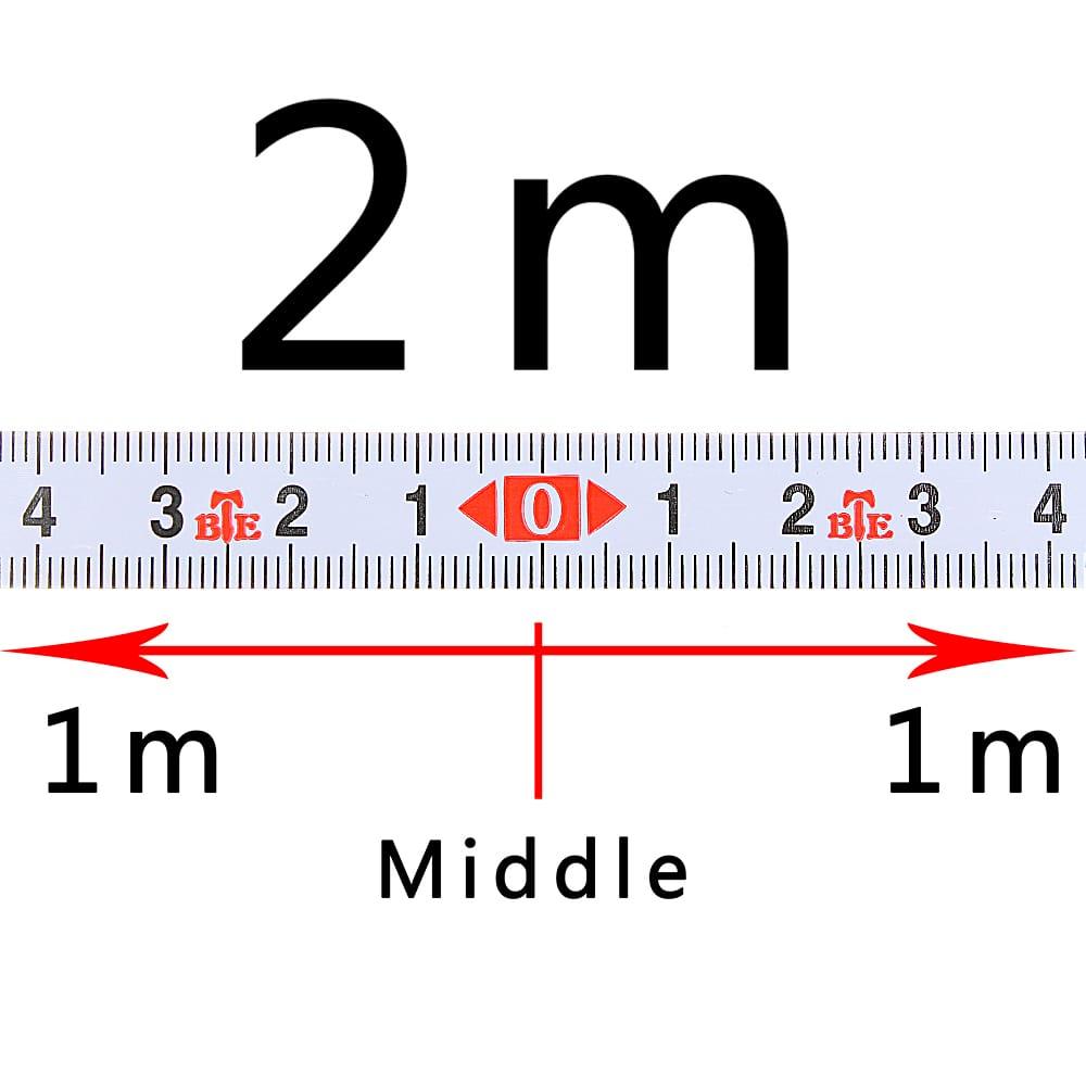 Self Adhesive Metric Ruler Miter Track Tape Measure Steel