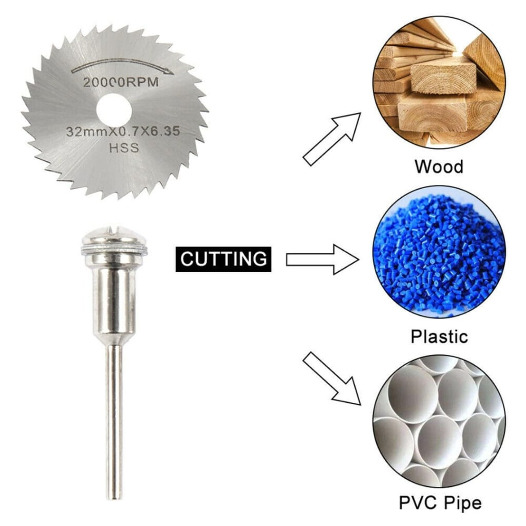 Mini Circular saw Blade Set Resin Wheels Diamond Cutting