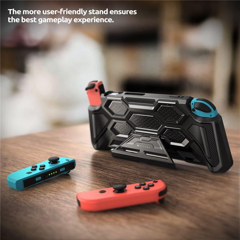 Mumba Battle Case Full-body Rugged Protection for Nintendo