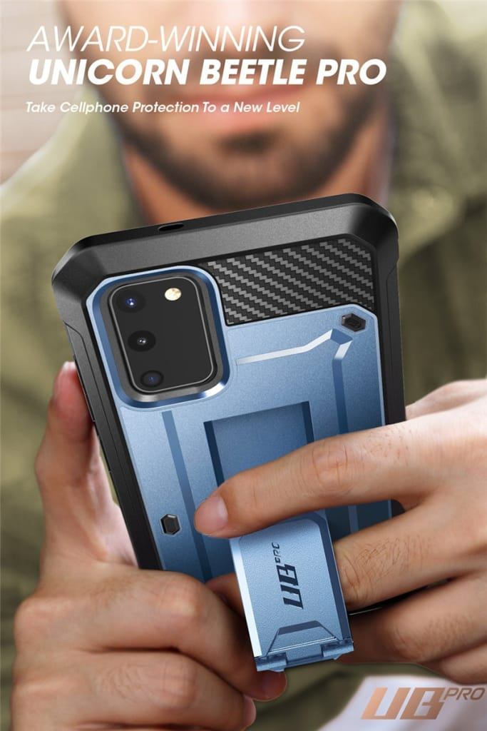 For Samsung Galaxy S20 Fe Holster Cover W/ Built-in Screen